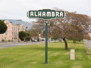 alhambra messenger service