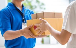 courier service downey